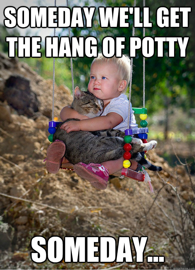 Someday we'll get the hang of potty Someday... - Someday we'll get the hang of potty Someday...  Someday