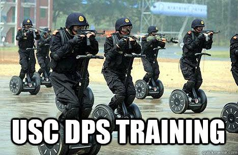 USC DPS Training  DPS Training