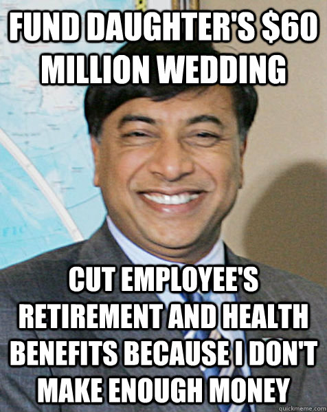 Funny Memes For Retirement : Fund daughter s million wedding cut employee