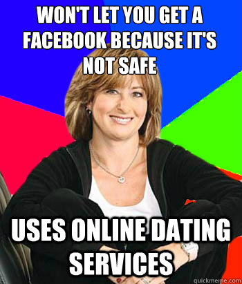 Who uses online dating services
