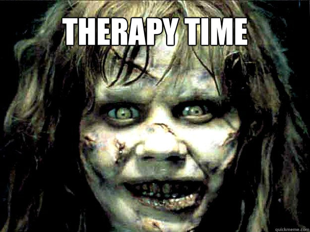 therapy time - therapy time  Exorcist Girl
