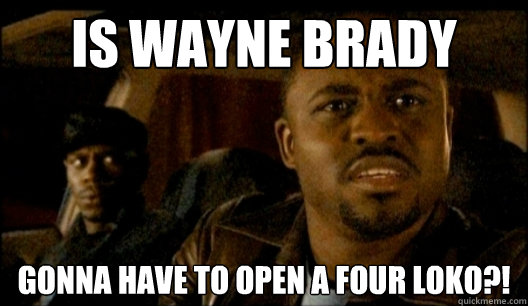 Is Wayne Brady Gonna have to open a four loko?! - Is Wayne Brady Gonna have to open a four loko?!  Inquisitive Wayne Brady
