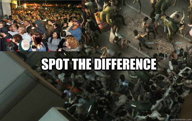 SPOT THE DIFFERENCE  Black Friday