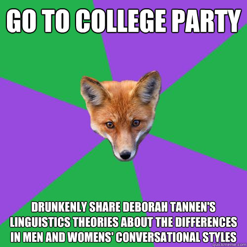 Theories about college?