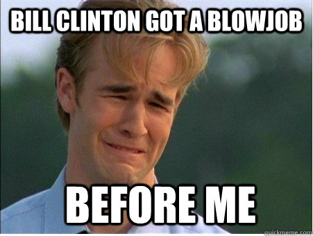 Bill clinton blow job confirm