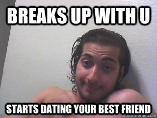 when your best friend starts dating