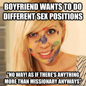 Will your Missionary sex position caption