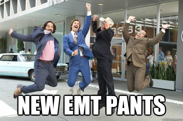 new emt pants -  new emt pants  Anchorman New Suits