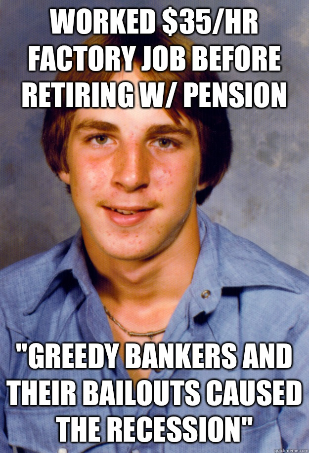Worked $35/hr factory job before retiring w/ pension