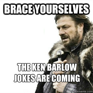 Brace yourselves The Ken Barlow Jokes are coming