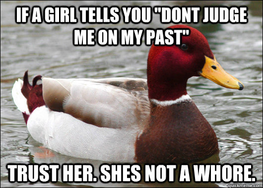 If a girl tells you