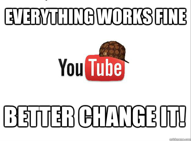 Everything works fine Better change it!