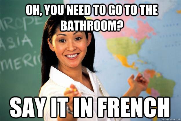 Výsledek obrázku pro teacher i have to go to the toilet