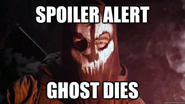 Spoiler alert Ghost dies - Spoiler alert Ghost dies  Ghosts Spoiler