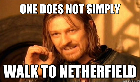 one does not simply Walk to netherfield