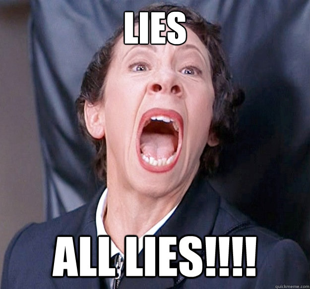 lies all lies!!!!