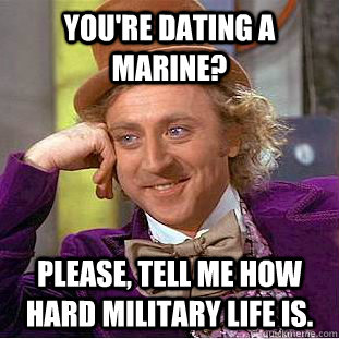 Has Dating Marine How Is A Hard It latest
