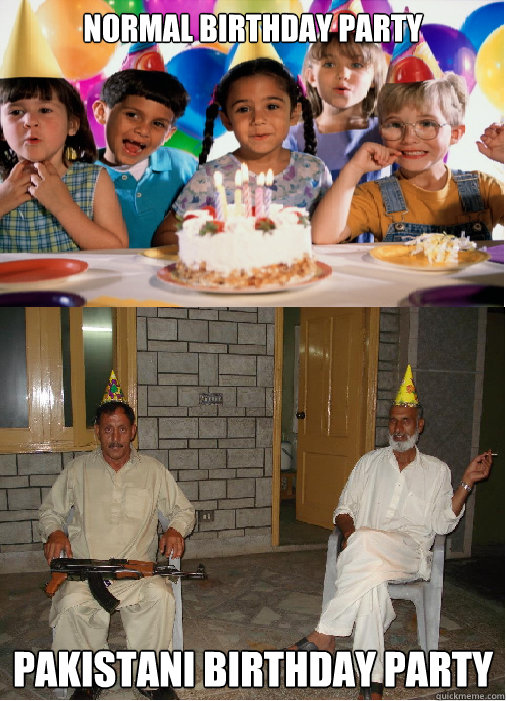Normal Birthday Party Pakistani