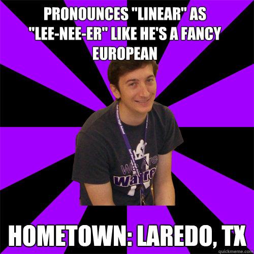Pronounces