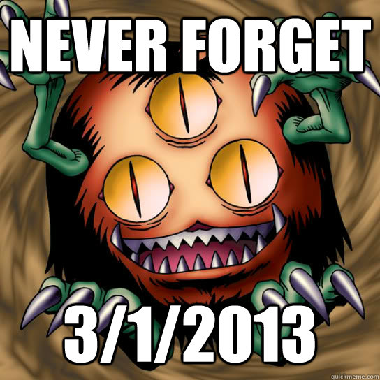 Never Forget 3/1/2013 - Never Forget 3/1/2013  Sangan