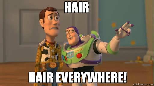 Hair Hair Everywhere! - Hair Hair Everywhere!  Everywhere