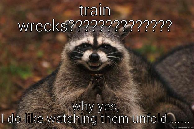 f8efd7f745c16f3352de247590c6d354d2db07601bae3228a5564573aeabc880 train wreck quickmeme