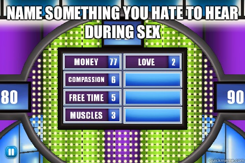 Family feud game sex version