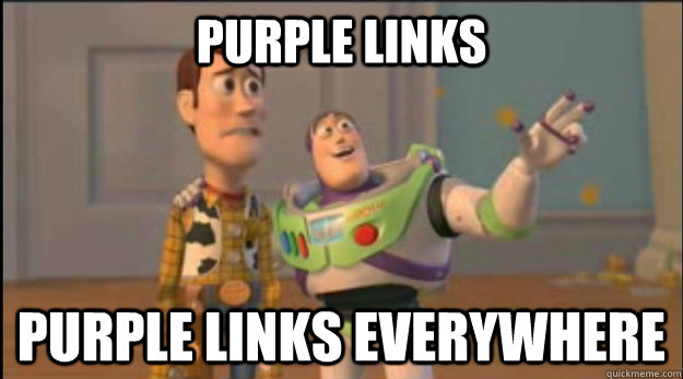 purple links purple links everywhere - purple links purple links everywhere  Misc