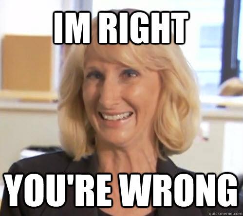 Im right You're wrong - Im right You're wrong  Wendy Wrong