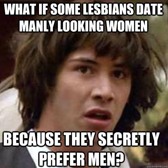 manly lesbian