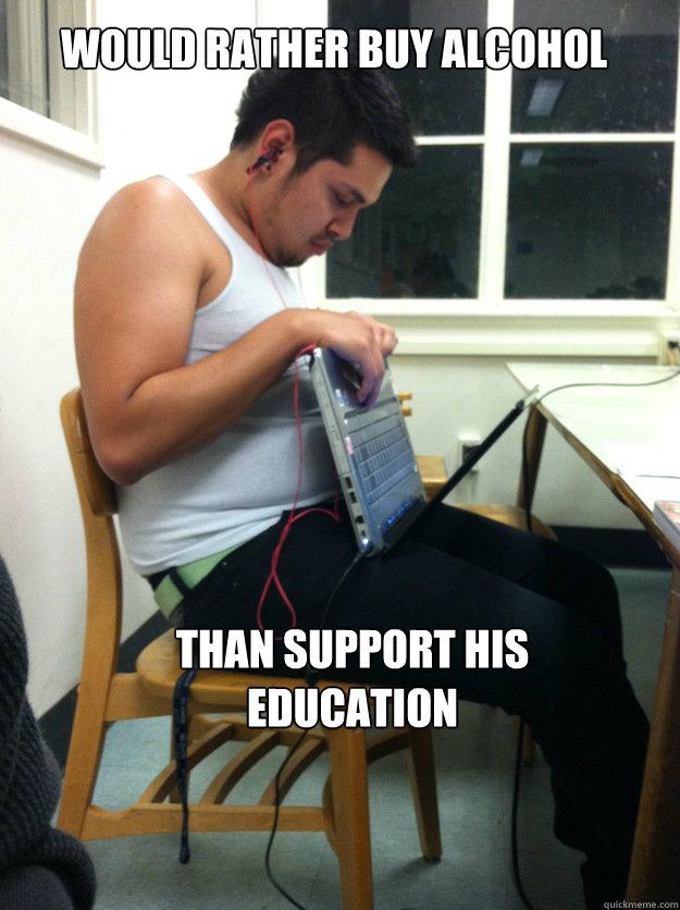 Poor College Student memes   quickmeme
