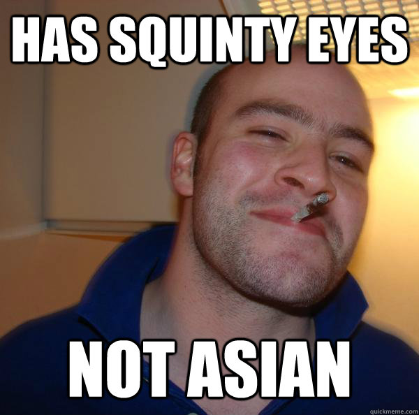 Asian Squinty Eyes 87