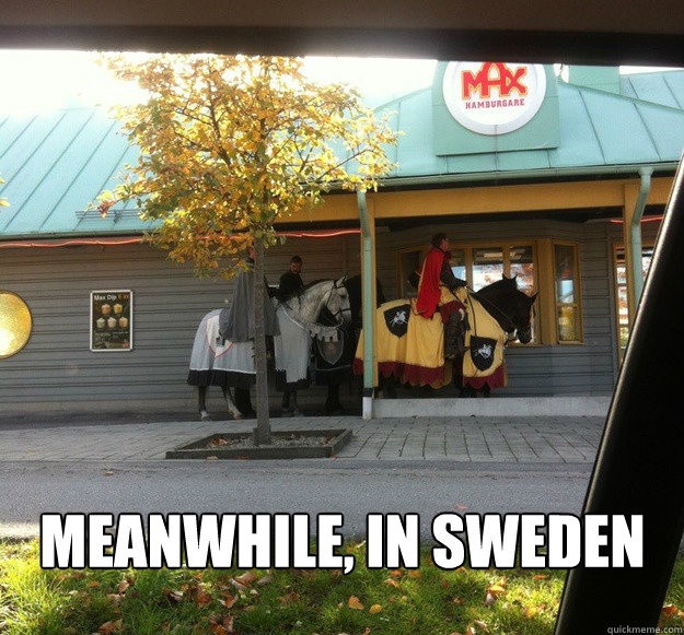 meanwhile, in sweden - meanwhile, in sweden  Misc