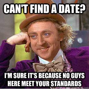 Can t find a date