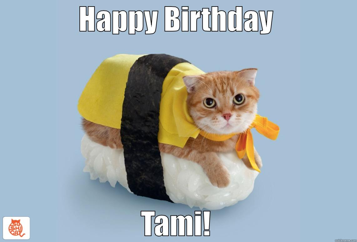 Sushi Cat Birthday Quickmeme