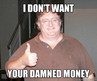 I don't want your damned money - I don't want your damned money  Misc