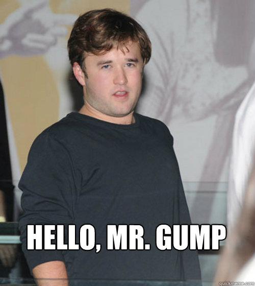Hello, Mr. Gump