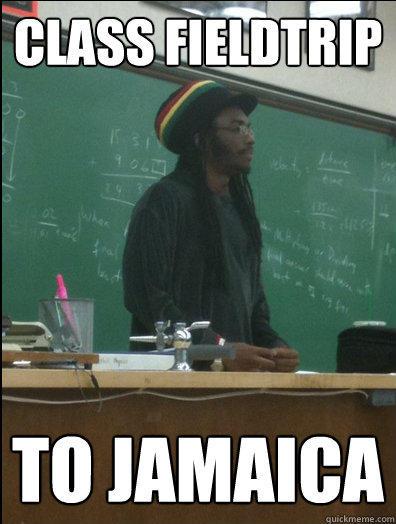 class fieldtrip to Jamaica   Rasta Science Teacher