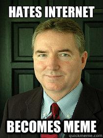 Hates Internet Becomes Meme  Judge William Adams