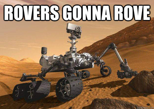Rovers gonna rove