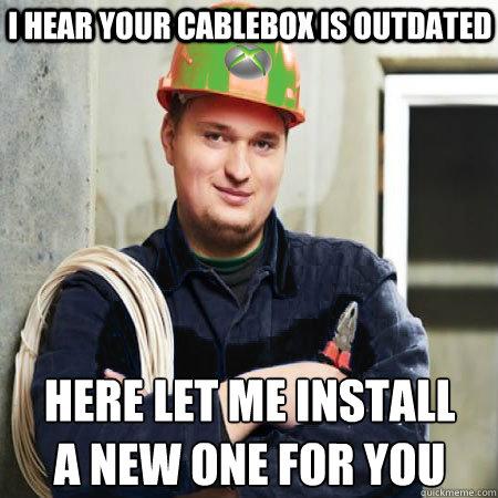 fb26c704ec35b4baa06fc942d0e34cb54666938e8bce0f24a04d2f1f370ca710 cable guy fred memes quickmeme,Cable Meme