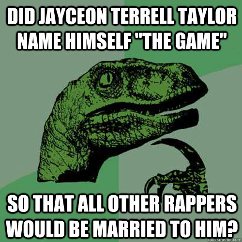 Did Jayceon Terrell Taylor name himself