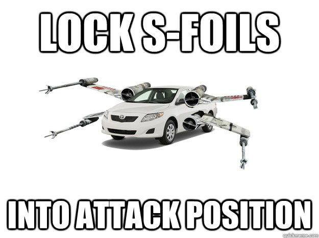 Lock S-Foils Into Attack Position - Lock S-Foils Into Attack Position  Misc
