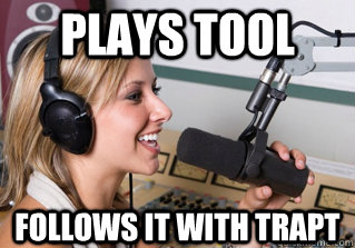 plays tool follows it with trapt - plays tool follows it with trapt  scumbag radio dj