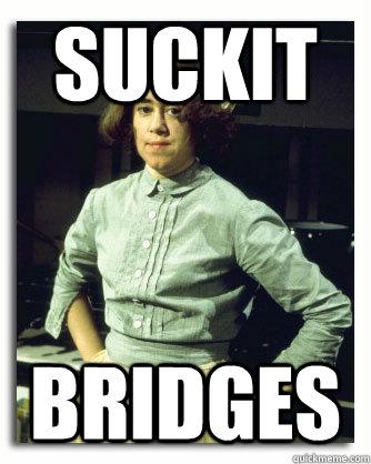 SUCKIT Bridges - SUCKIT Bridges  Downstairs Ruby