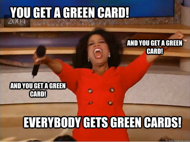 Funny Meme Cards : Green card meme card.best of the funny meme