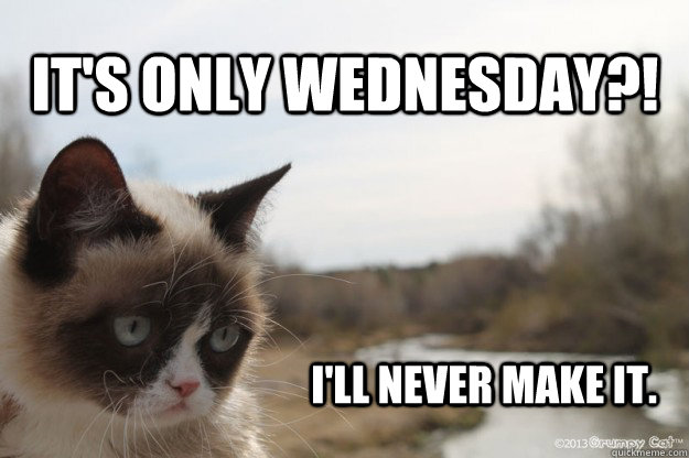 Nothing Screws Up Your Friday Like Realizing It&#39-s Only Wednesday ...