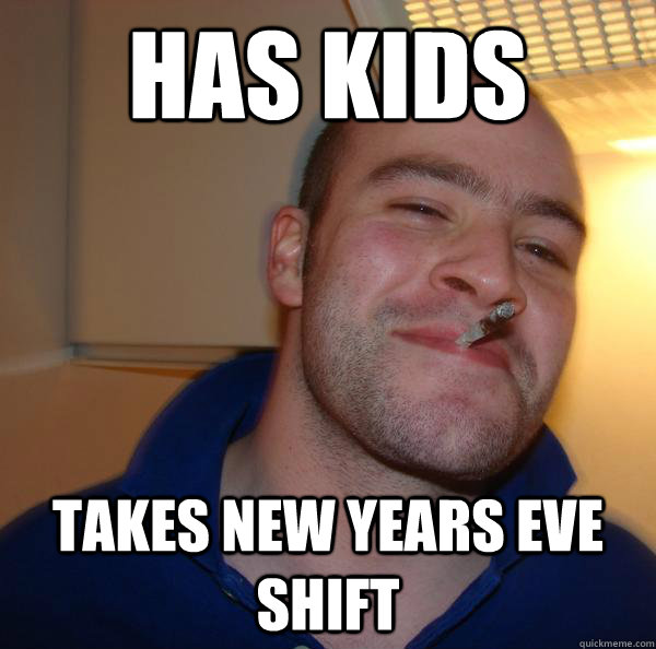 has kids takes new years eve shift - has kids takes new years eve shift  Misc