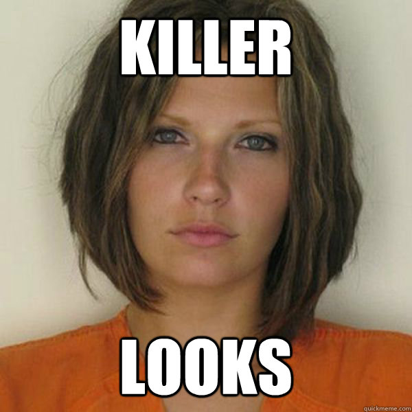 killer looks - killer looks  Attractive Convict