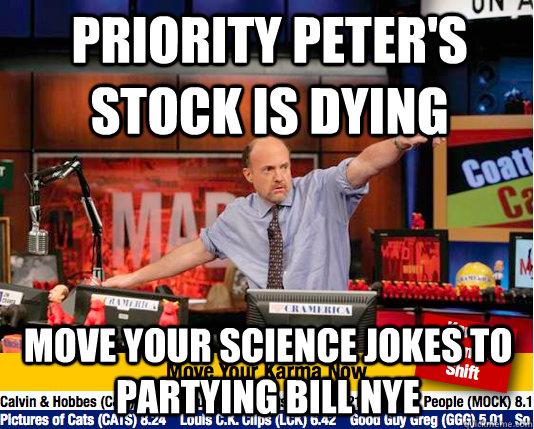 Priority peter meme something